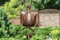 Copper Rain Chain 'Suzuran'